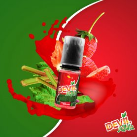 DEVIL SQUIZ - Fraise Rhubarbe 10ml